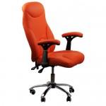 Scaun-de-birou-ergonomic-OFF-801-portocaliu