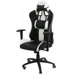 Scaun-gaming-OFF-307-alb-&-negru