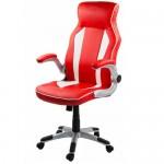 Scaun-de-birou-ergonomic-OFF-311-rosu